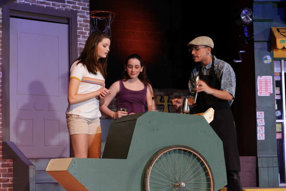 Rehearsals for the Cairo-Durham High School production of