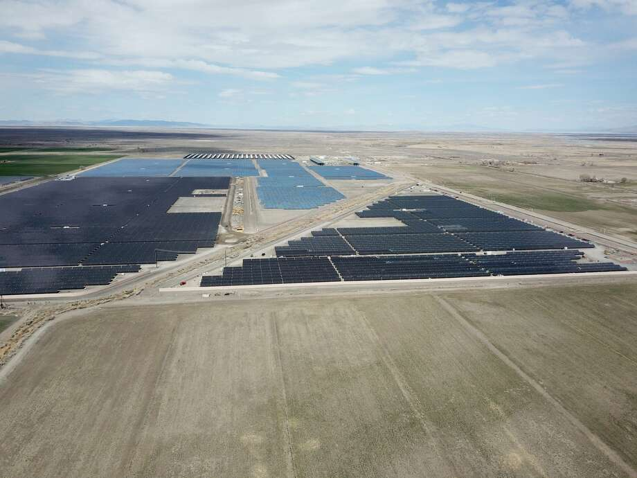 When Enel Green Energy's Roadrunner solar farm in Upton County is completed by the end of 2020, it will resemble the company's Stillwater solar farm in Nevada. NEXT: See recent energy usage based on type.  Photo: Courtesy Enel Green Energy