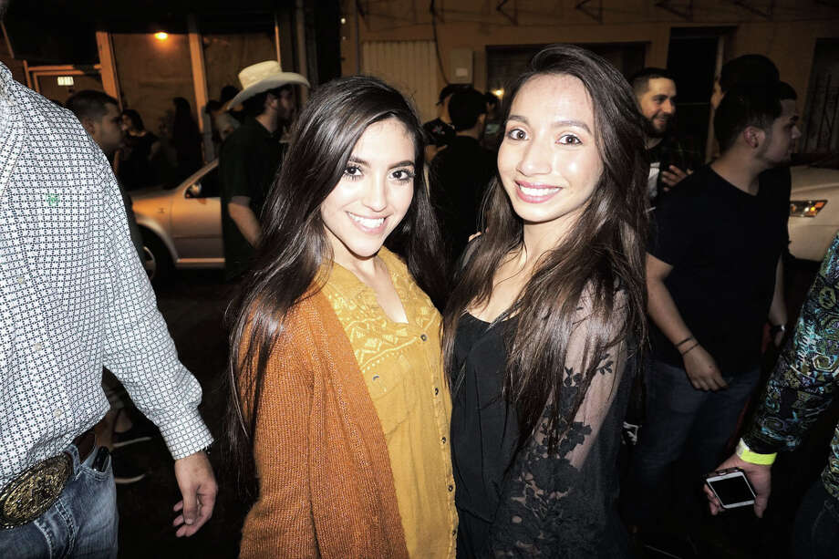 Jennifer Verduzco and Shannon Escamilla at The Happy Hour Downtown Bar Photo: Laredo Morning Times