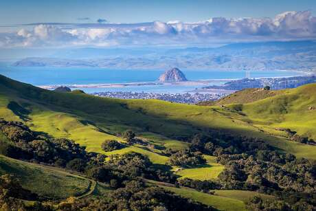 View of Morro Bay From a country road. Photo: Getty / Getty Images