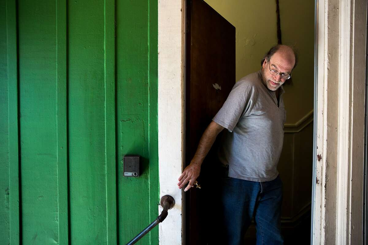 Landlord Mike Reed checks on one of the apartments he rents out to a tenant with a Section 8 voucher from the S.F. Housing Authority, Tuesday, Feb. 28, 2017, in San Francisco, Calif.