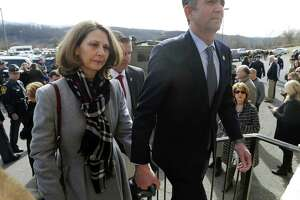 Virginia Gov. Ralph Northam, left, and his wife Pam, left, have come under scrutiny for alleged racial insensitivity — the governor for donning blackface when in his 20s and her for handing out cotton to African American students.