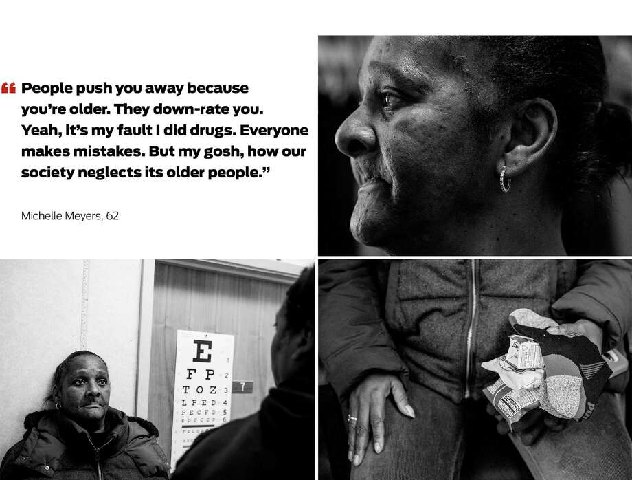 After a health crisis, Michelle Myers found government-funded residential  placement at  the Harrison Hotel in Oakland. Photo: Photos By Jessica Christian / The Chronicle / ONLINE_YES