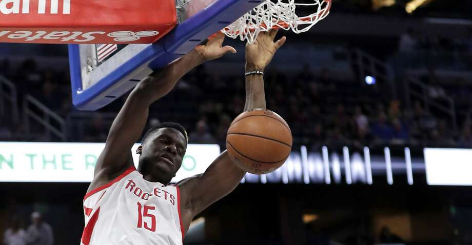 PHOTOS: Rockets game-by-game Houston Rockets' Clint Capela (15) dunks the ball against the Orlando Magic during the first half of an NBA basketball game, Sunday, Jan. 13, 2019, in Orlando, Fla. (AP Photo/John Raoux) Browse through the photos to see how the Rockets have fared in each game this season. Photo: John Raoux/Associated Press