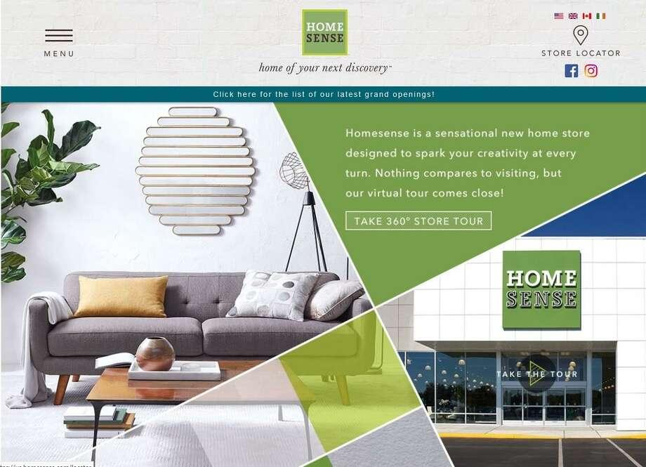 Homesense home page Photo: Homesense