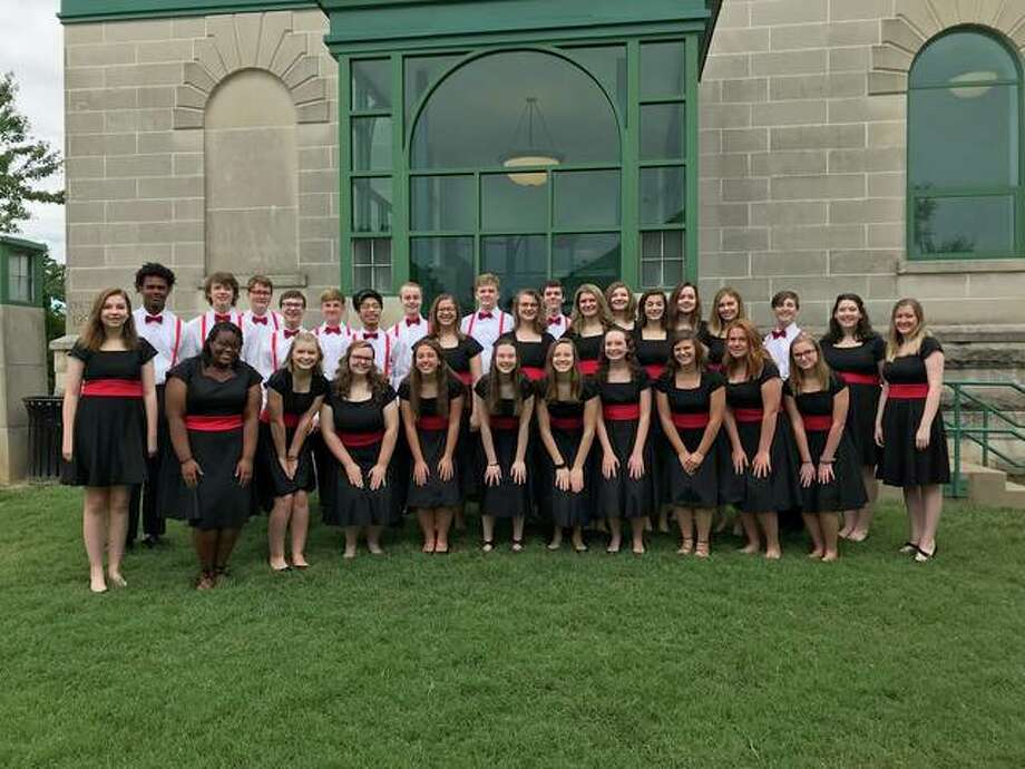 """The EHS choral groups AcaFellaz and Bel Canto will be performing together again this year for """"A Night at the Wildey"""" at 7 p.m. on Monday, March 18. Photo: For The Intelligencer"""