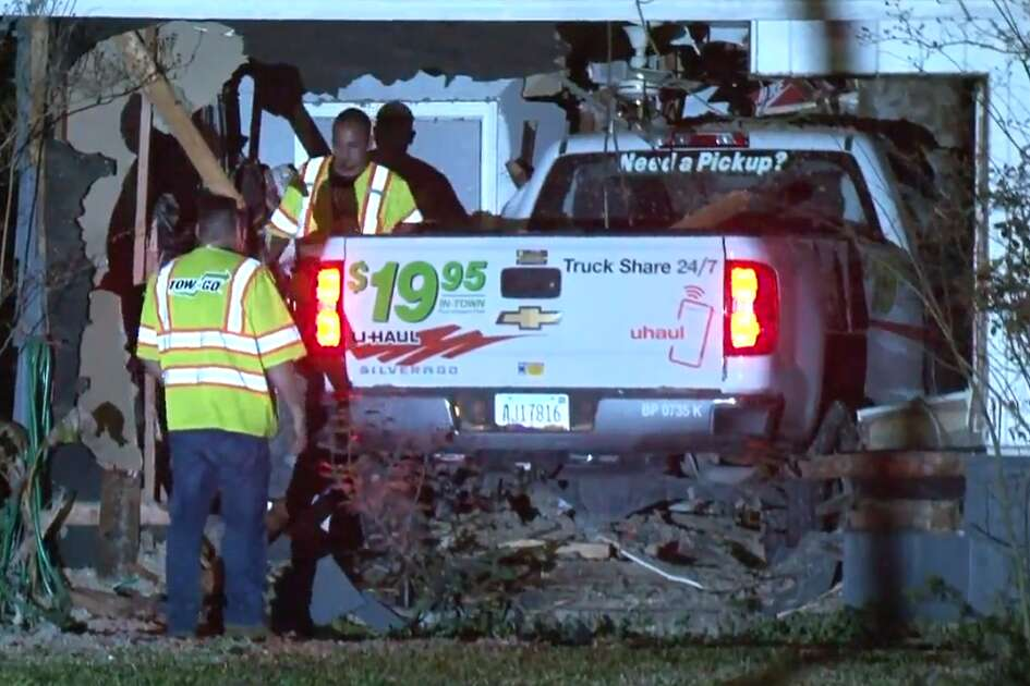 A man was taken to a hospital in stable condition after a U-Haul pickup 832e756158