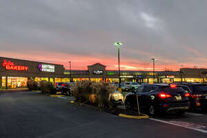 Orange Meadows shopping plaza in Orange, Conn. on Sunday, Nov. 26, 2017.