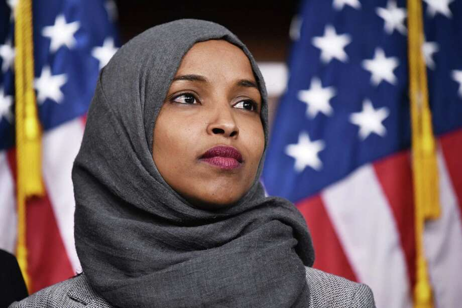 U.S. Rep. Ilhan Omar, D-Minnesota Photo: MANDEL NGAN / Getty Images / AFP or licensors