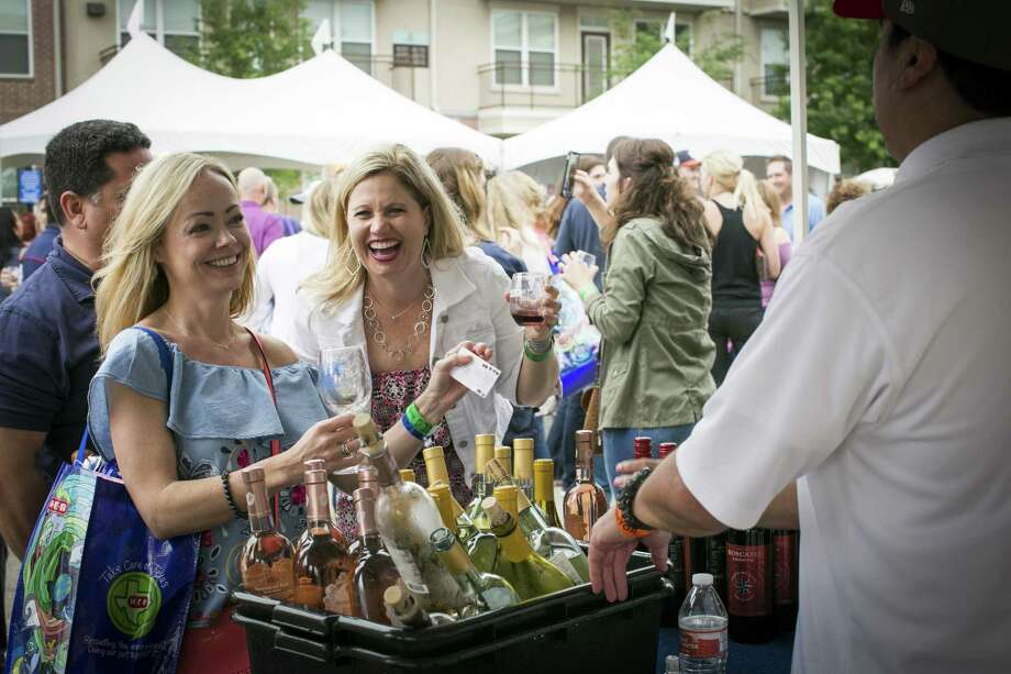 The annual Wine Fair Cy-Fair, taking place March 30, will feature local restaurants, vendors and local organizations in the Cy-Fair area. Photo: Wine Fair Cy-Fair / Kelley Sweet Photography