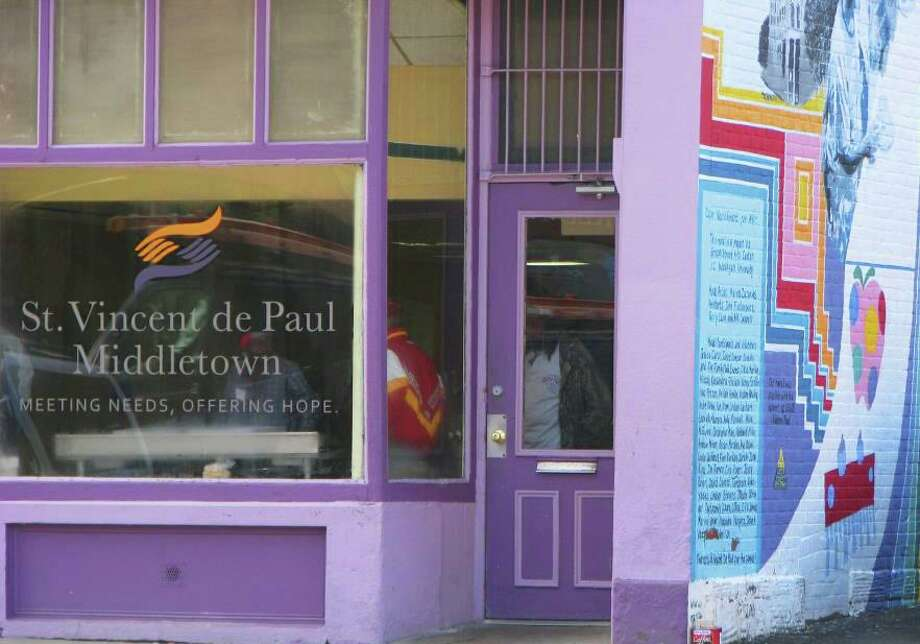 St. Vincent De Paul Middletown runs a soup kitchen on Main Street and the Amazing Grace Food Pantry on Stack Street. It offers supportive housing and other referrals to partner agencies to aid clients experiencing life challenges. Photo: Contributed Photo