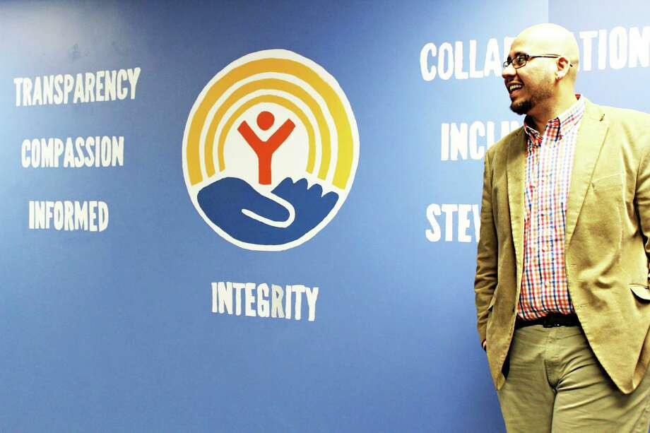 Manny Martinez is the development director for Middlesex United Way in Middletown. Photo: Contributed Photo /
