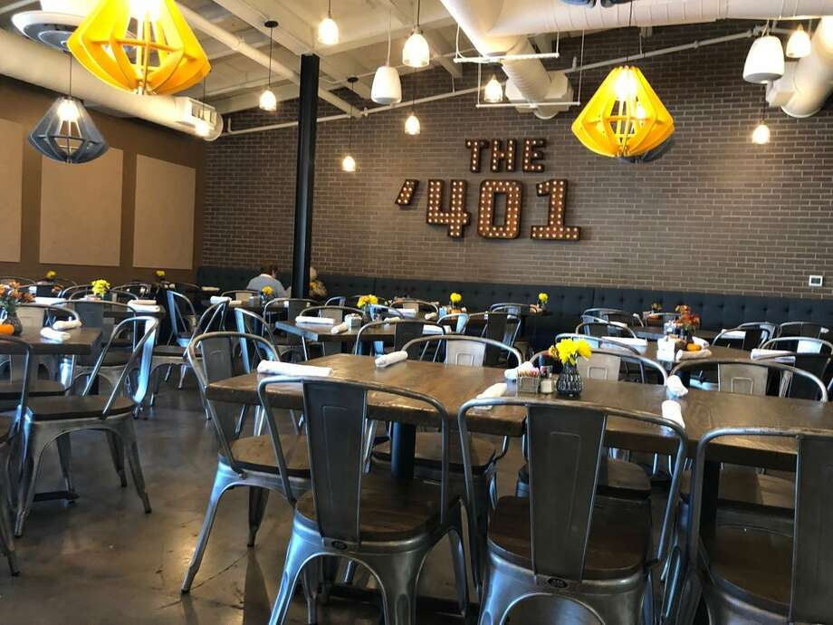 >>>See the best places to let your kids entertain themselves. The '401Adults can enjoy a relaxed dinner at the large, covered patio while their kids take advantage of the restaurant's indoor playroom, which has a TV playing the latest kids' movies.6700 Ferris St.  Photo: Yelp/Kate I.