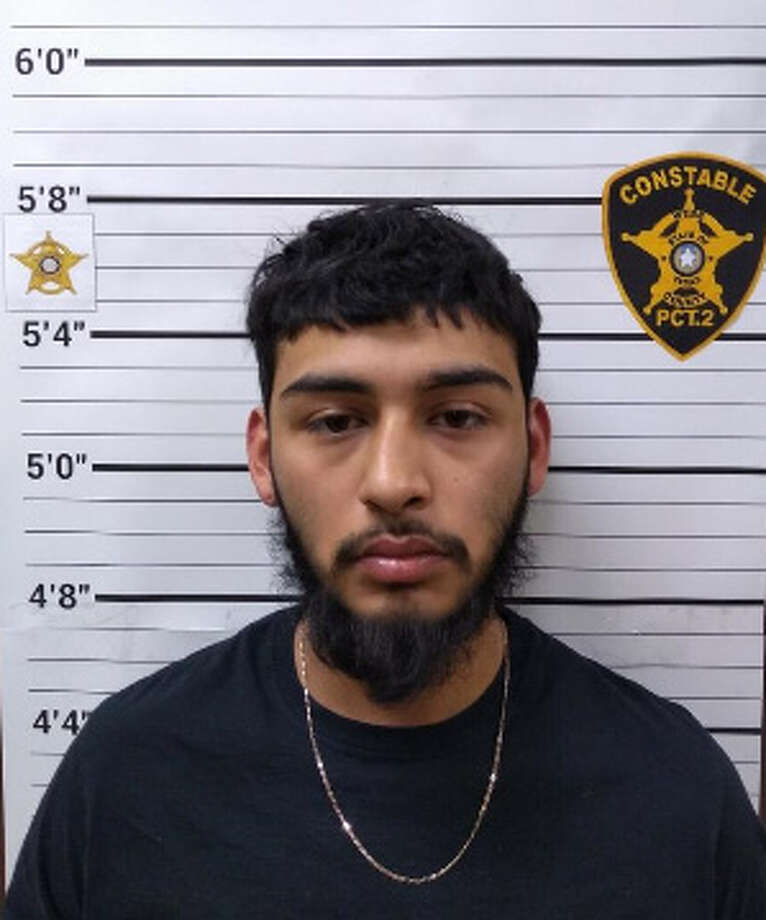 Oscar Martinez, 18, was charged with possession of marijuana, 4 ounces to 5 pounds. Photo: Webb County Precinct 2 Constable's Office