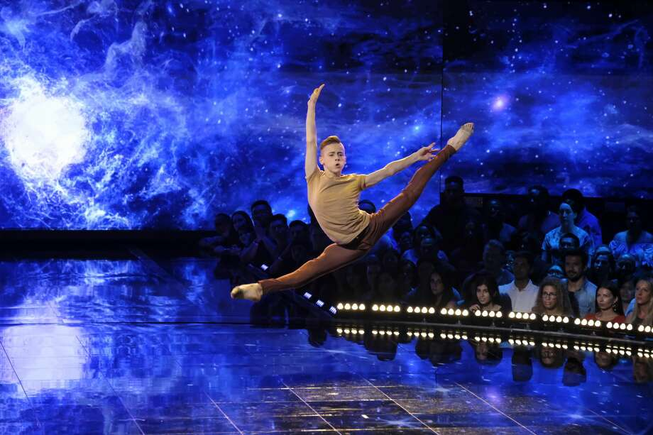 "Aydin Eyikan on the ""Qualifiers"" episode of World of Dance (Photo by: Justin Lubin/NBC) Photo: NBC/Justin Lubin/NBC"