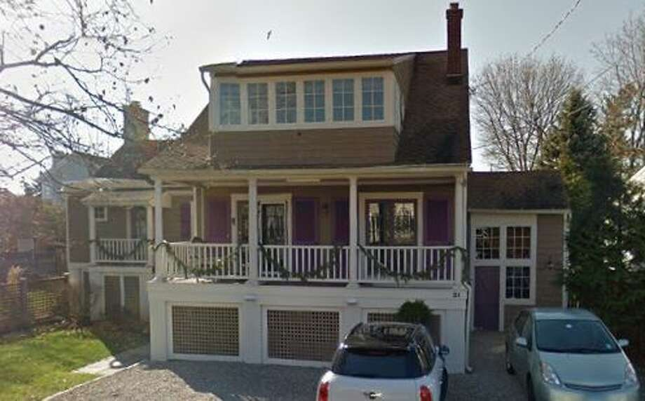 21 Danbury Ave. in Westport sold for $1,300,000. Photo: Google Street View