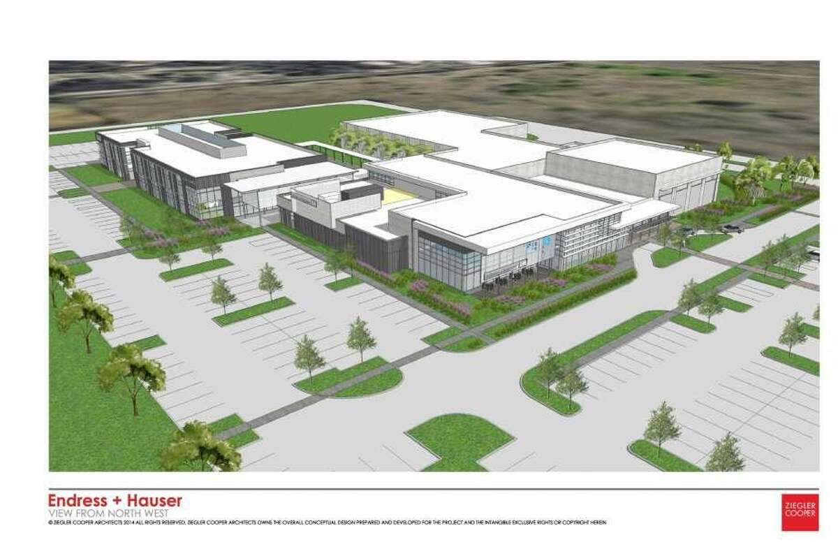 Work will start soon on a planned Pearland facility will house a regional center for Swiss engineering and instrumentation device maker Endress+Hauser.