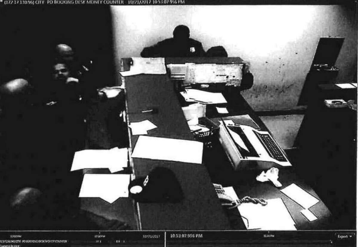 Photo provided in the Office of Internal Affairs report into several Bridgeport, Conn., officers, released to Hearst Connecticut Media on March 6, 2019.