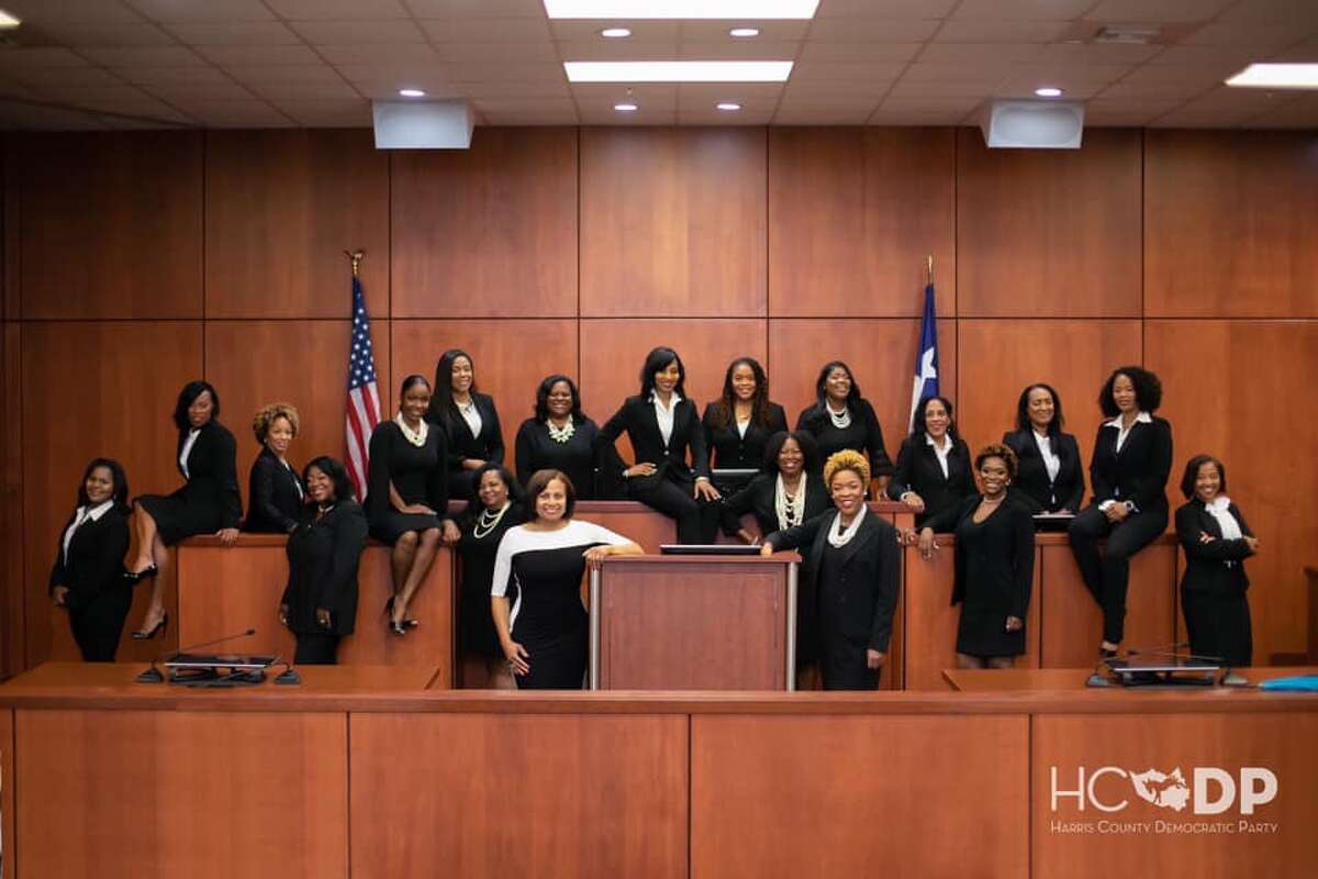 Black Girl Magic 17 female, Democratic, African-American judges gave themselves the nickname after getting elected last November. Sadly, Judge Cassandra Hollemon passed away in February after a brief illness. >>>>Click thru to see more of the most powerful women in Houston