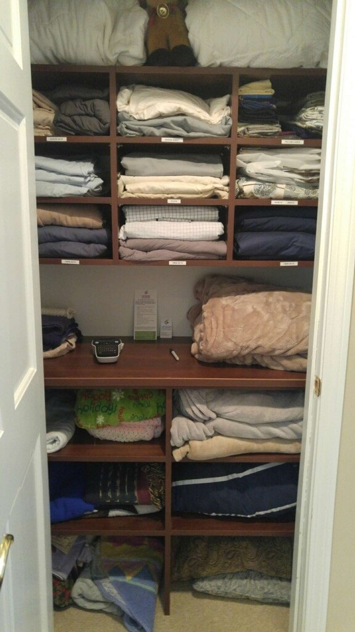 Even simply reorganizing a linen closet can clear your mind, according to Sheilah Sable, a personal concierge who owns the Call Shielah! service.