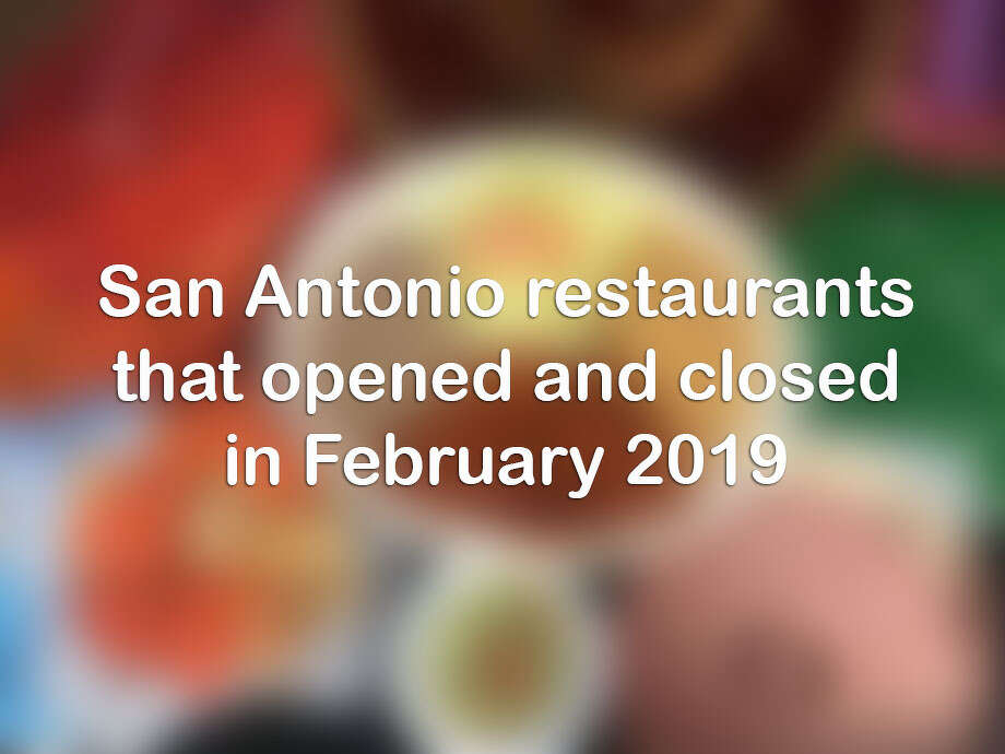 Click ahead for a look at the San Antonio restaurants and bars that opened and closed in February 2019. Photo: Camila's Mexican Restaurant