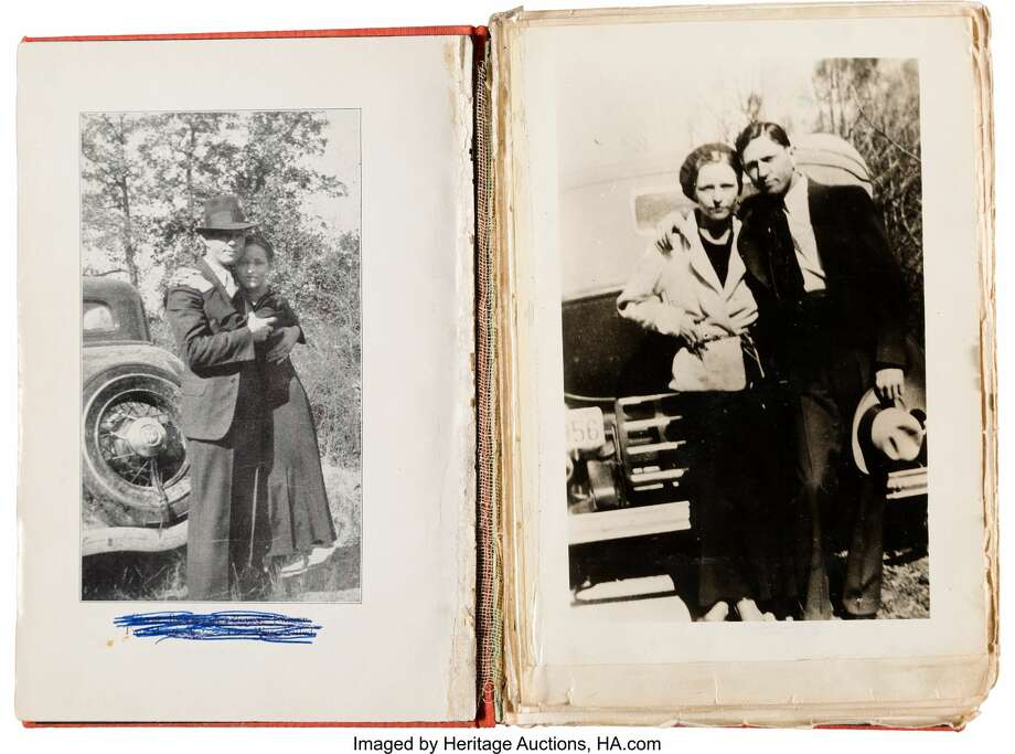 Dozens of rare Bonnie and Clyde photos and poetry will be auctioned off May 4 in Dallas by Heritage Auctions. Ahead of the event, the company released the preview images with general descriptions.