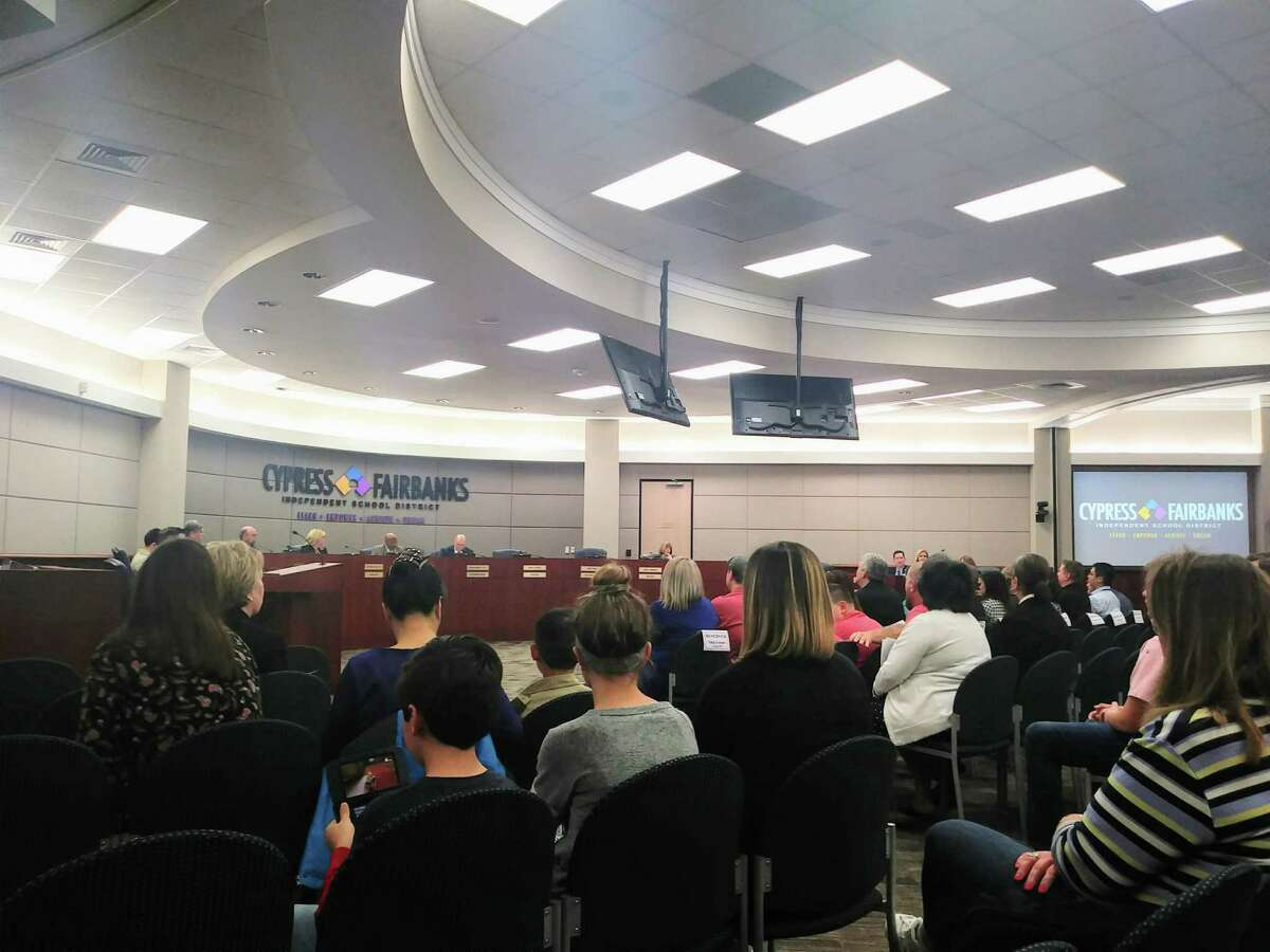 The Cy-Fair ISD board of trustees approved the recommendation from student services to open specific campuses during the 2019-2020 school year for open transfer on March 7, 2019