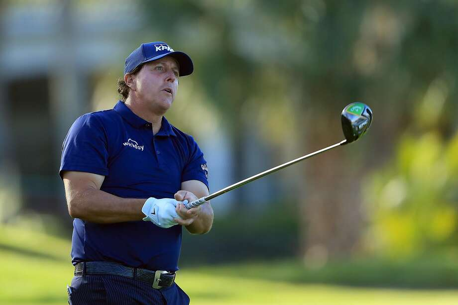 Phil Mickelson, who plays a shot during the second round of the Arnold Palmer Invitational, says he plans to play 20 tournaments this year, which would be his fewest since 2010. Photo: Sam Greenwood / Getty Images