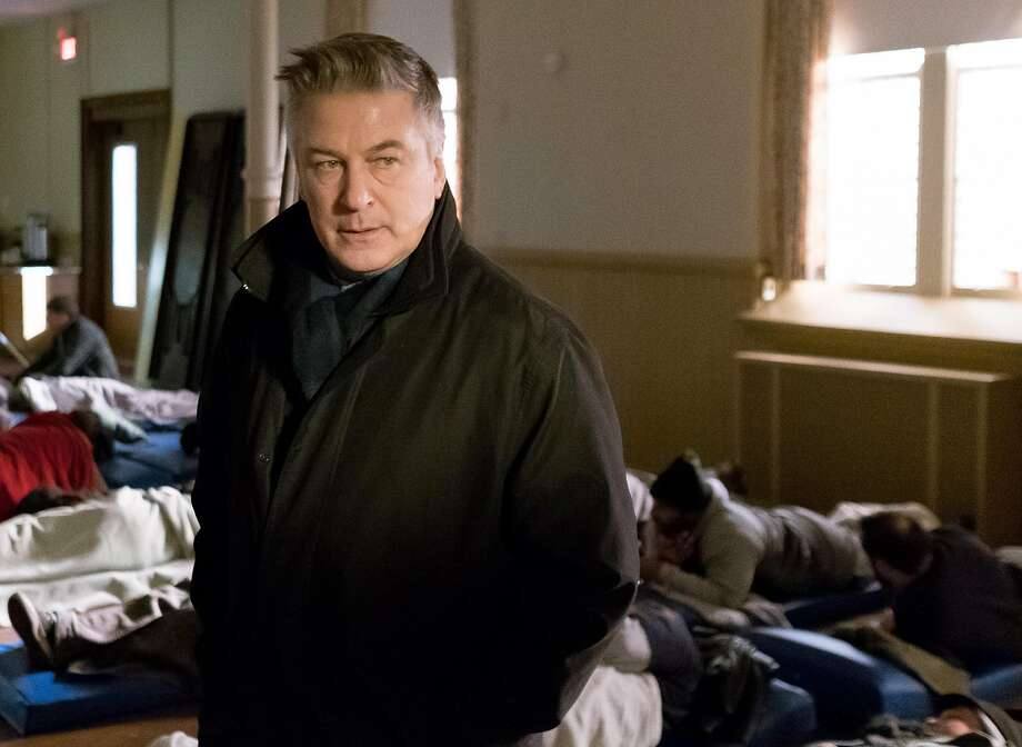 Alec Baldwin as Detective Bill Ramstead in Universal Pictures Content Group�s drama THE PUBLIC. Photo: Universal Pictures