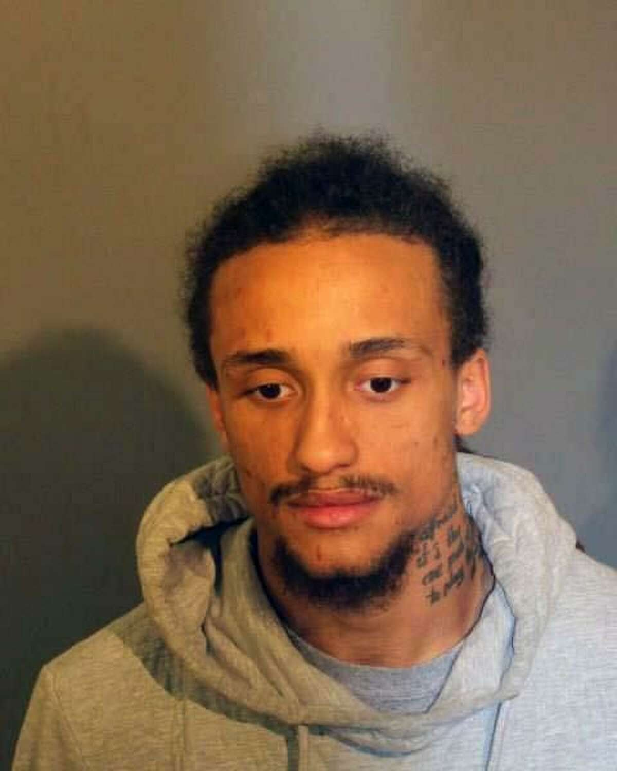 John Fernandez, 26, of Southington, Conn., was charged with interfering with police, possession of less than half an ounce of marijuana, five counts of possession of a controlled substance, five counts of possession of a controlled substance with intent to sell, five counts of possession of a controlled substance within 1,500 feet of a school, five counts of possession of a controlled substance with intent to sell within 1,500 feet of a school, possession of drug paraphernalia, possession of drug paraphernalia within 1,500 feet of a school and operating a motor vehicle under suspension.