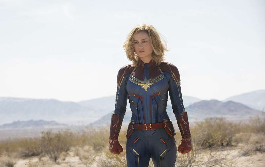"""Brie Larson stars in """"Captain Marvel."""" A reader ponders the gender swaps in Hollywood's latest movies and shows. Photo: Chuck Zlotnick /Marvel Studios /TNS / TNS"""