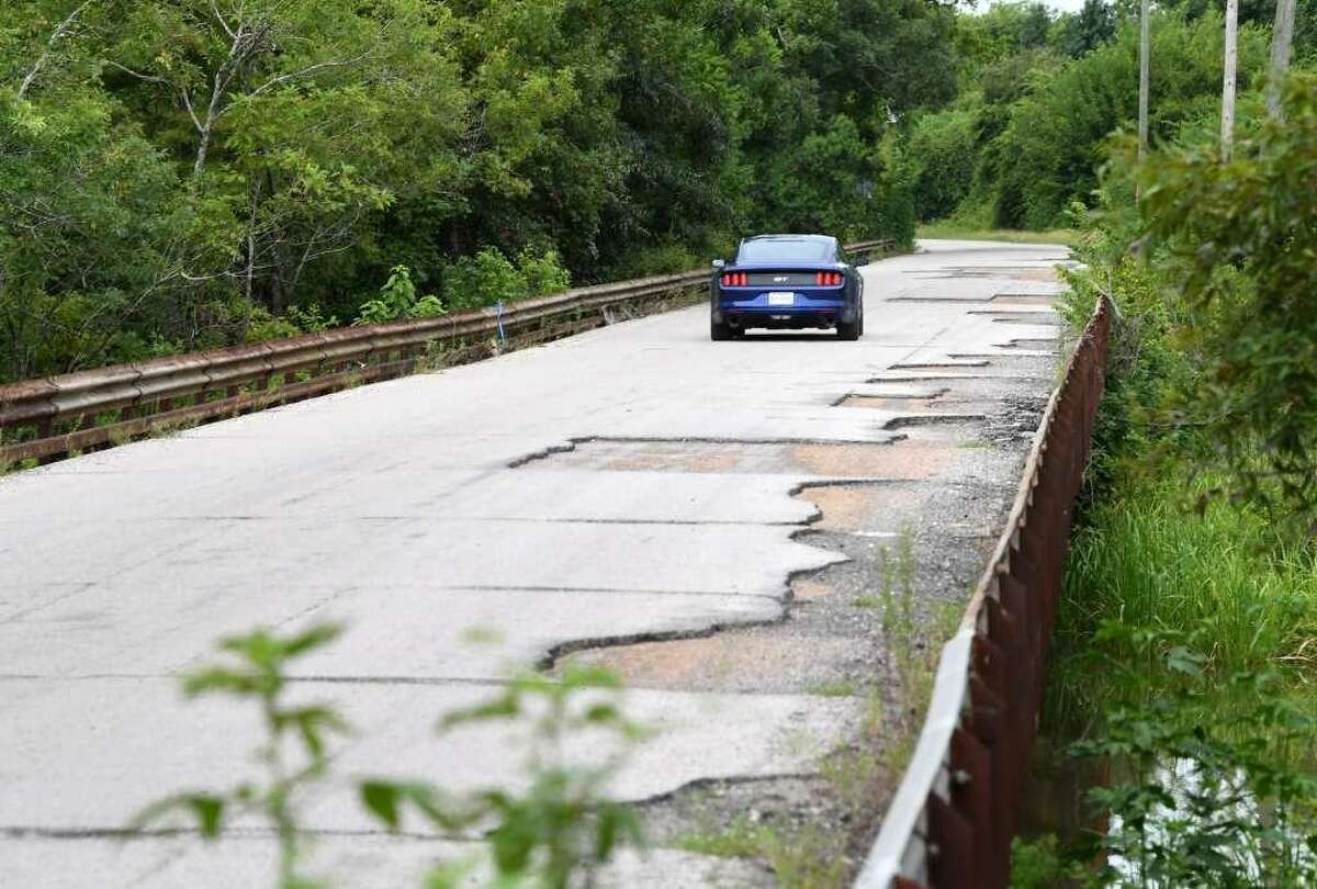 The 92-year-old Bairds Bayou Bridge near Rose City is scheduled to be replaced. A reader says Texas should become the leader in infrustructure and begin by spending on much needed repair projects throughout the state.