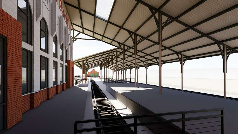 The Texas Railroading Heritage Museum unveiled renderings of the museum that will be built in Tomball next to the depot in downtown. Photo: Courtesy Of Harry Gendel Architects