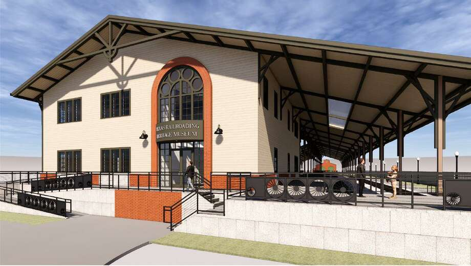 The TexasRailroadingHeritage Museum unveiled renderings of the museum that will be built in Tomball next to the depot in downtown. Photo: Courtesy Of Harry Gendel Architects