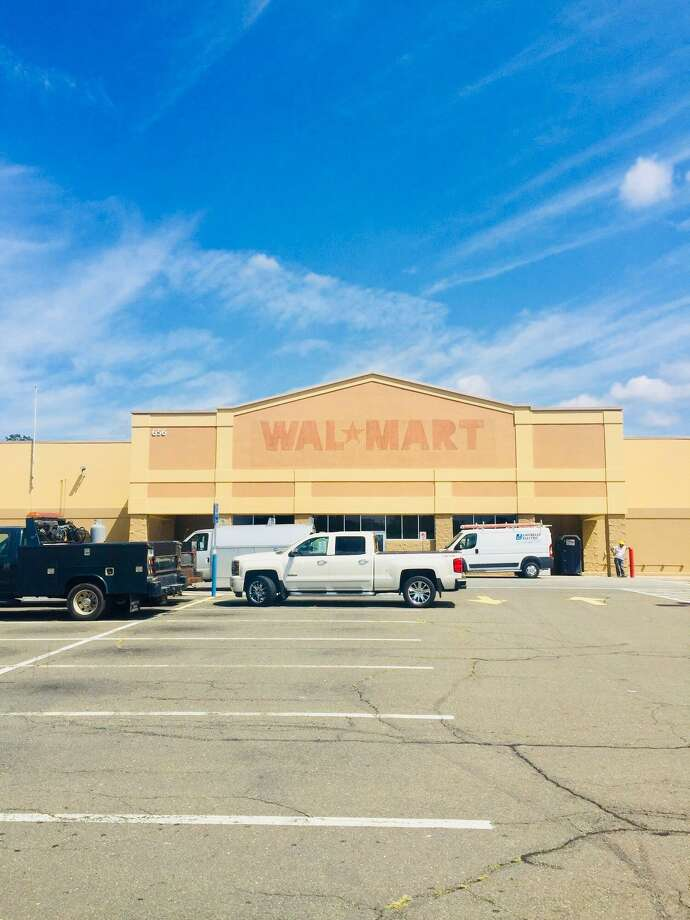 Big Y Supermarkets is renovating the former Walmart on Route 34 with expectation of a November opening. Photo: City Of Derby