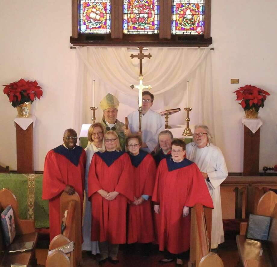 Saint Andrew's Episcopal Church of Northford, welcomed The Right Reverend Ian Douglas, PhD, Bishop of the Episcopal Church in Connecticut, for a pastoral visitation Feb. 17. Photo: Contributed Photo