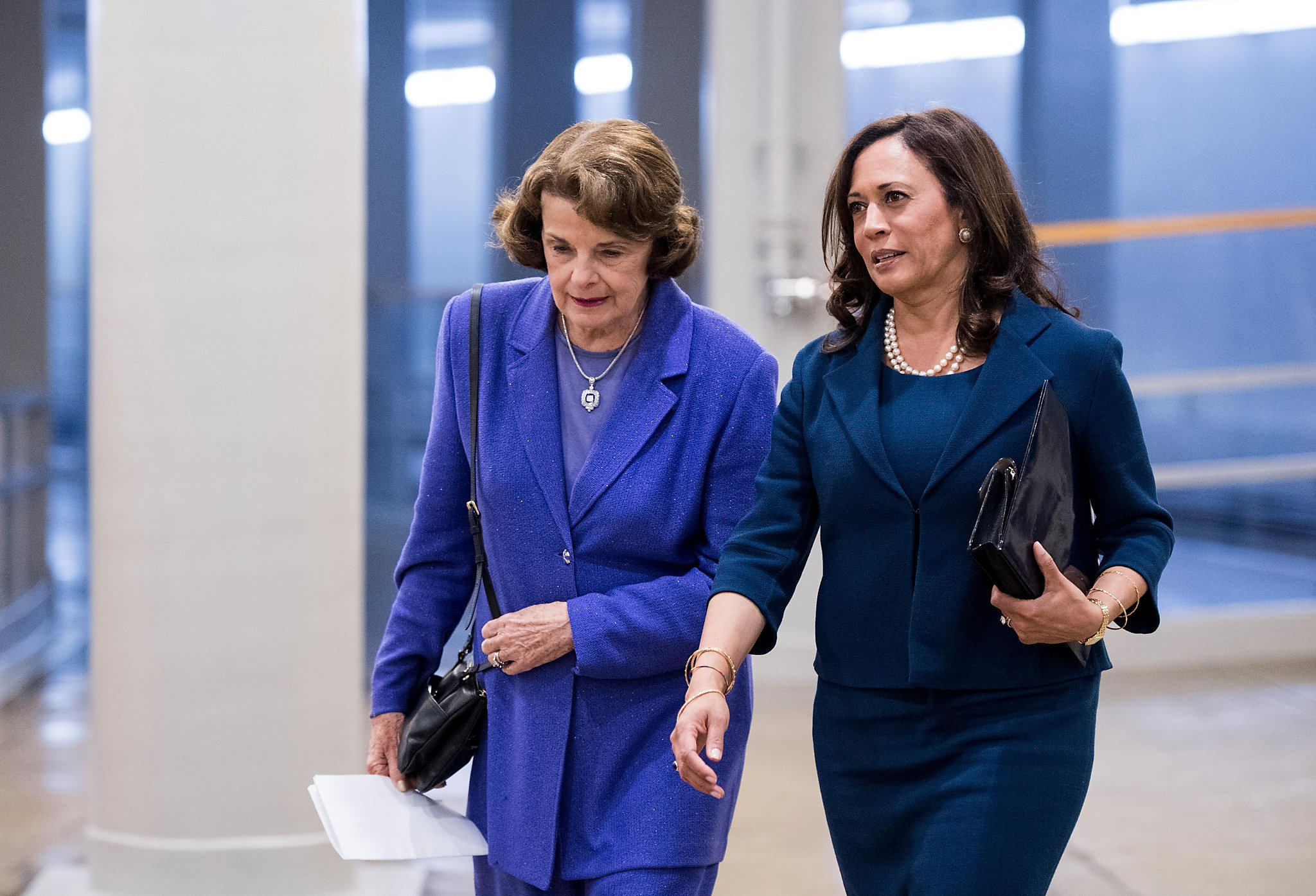Trump S Trial Kamala Harris Goes On Attack Feinstein Stresses Impartiality Sfchronicle Com