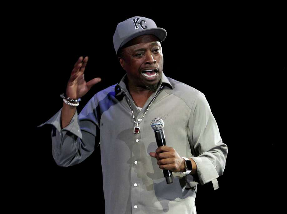 """Eddie Griffin: Comedian Griffin, who was in town last year as part of """"The Comedy Get Down,"""" returns for a two-night solo run at Laugh Out Loud! Griffin recently appeared in the """"Def Comedy Jam"""" 25th anniversary special, and he had a cameo on the hit movie """"A Star is Born"""" as the pastor who marries Ally and Jackson. 8 and 10:15 p.m. Friday and Saturday. Laugh Out Loud! Comedy Club, 618 NW Loop 410. $35. lolsanantonio.com — Jim Kiest Photo: Matthew Simmons /Getty Images / 2015 Matthew Simmons"""