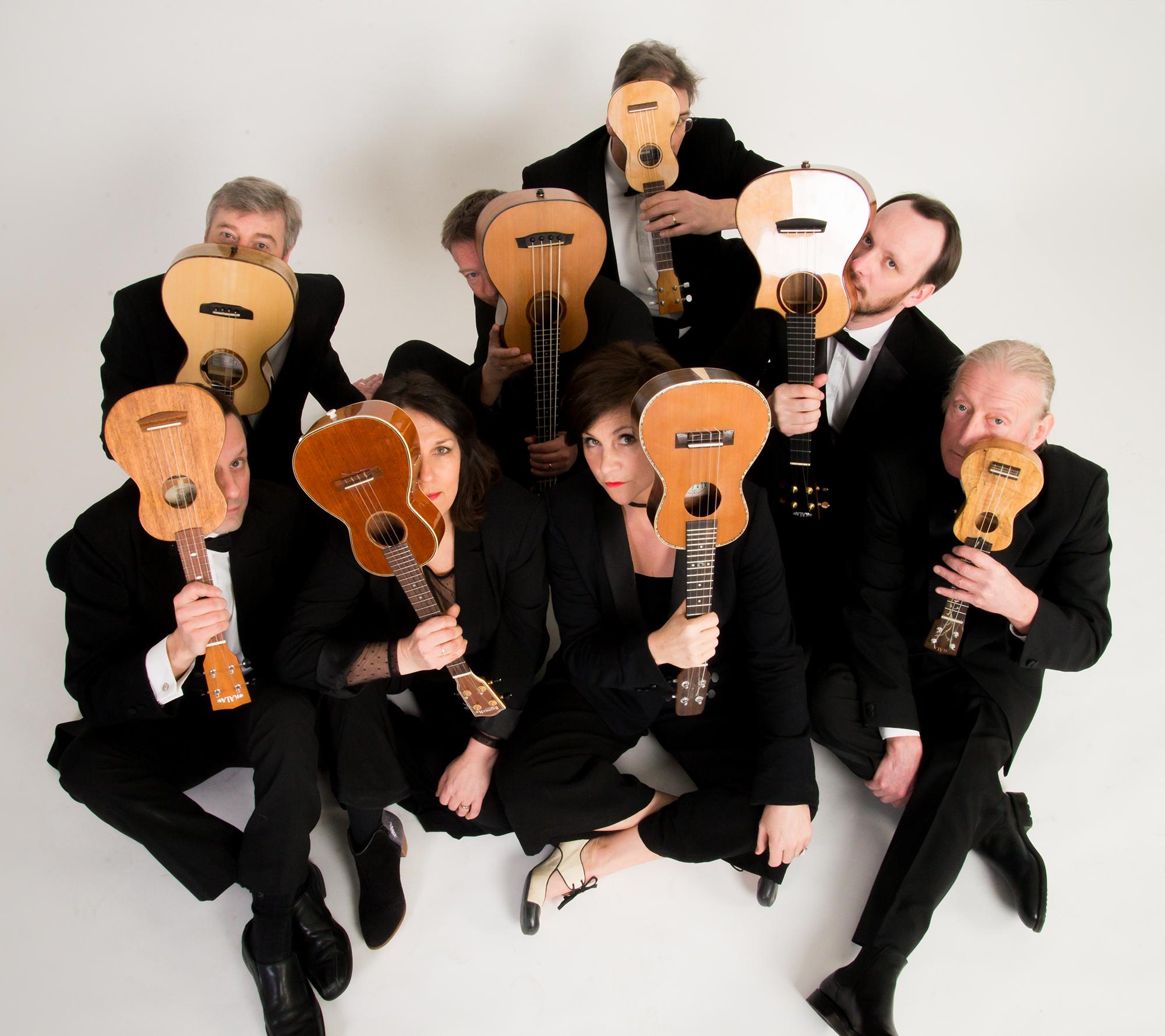 Ukulele Orchestra is no joke. See for yourself at Houston's Wortham Theater