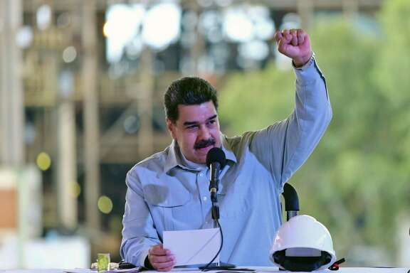 Venezuelan President Nicolas Maduro. A $9 billion arbitration award to ConocoPhillips is more trouble for his beleaguered government.
