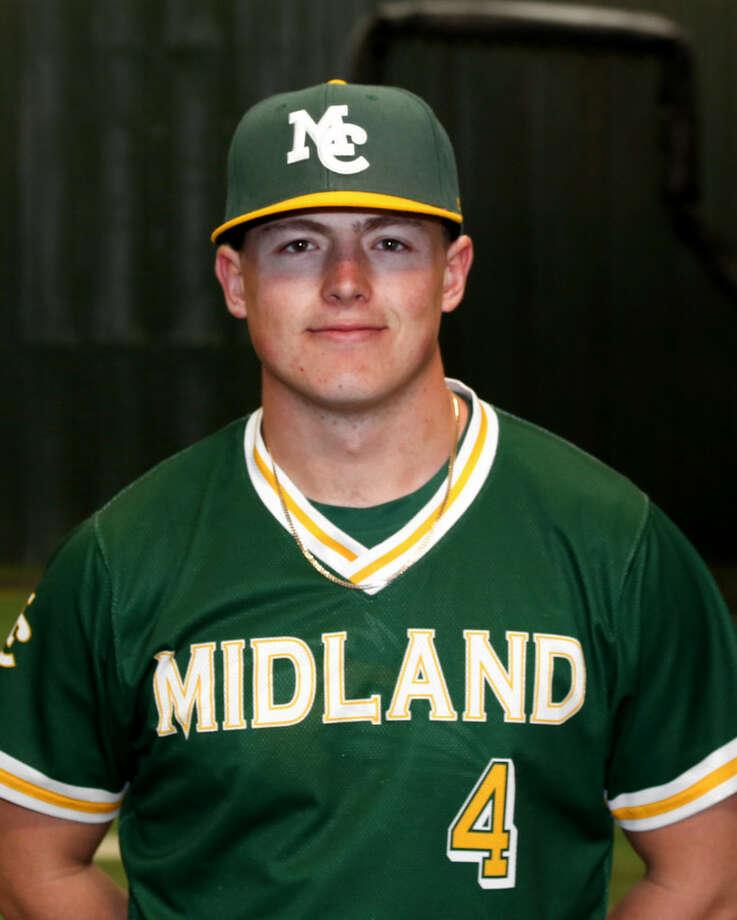 Midland College catcher Garrett Wilkinson Photo: Midland College Athletics
