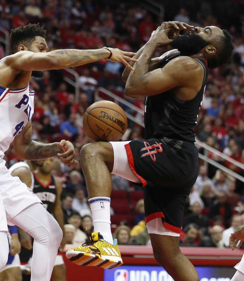 James Harden Rockets: March 8: Rockets 107, 76ers 91