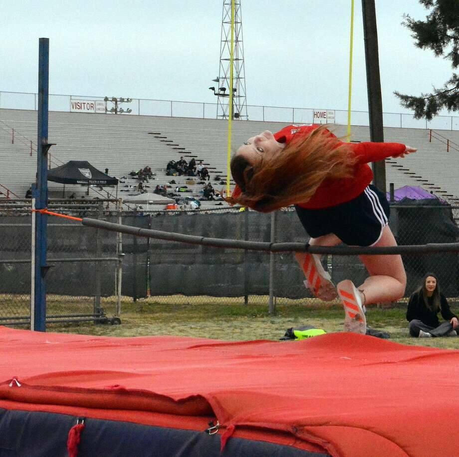 Plainview's track & field team held its annual Bulldogs Relays on Friday at Greg Sherwood Memorial Stadium. Photo: Alexis Cubit/Plainview Herald