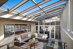 Mid-century/current century modern blends beautifully in this View Ridge home asking $1.450M