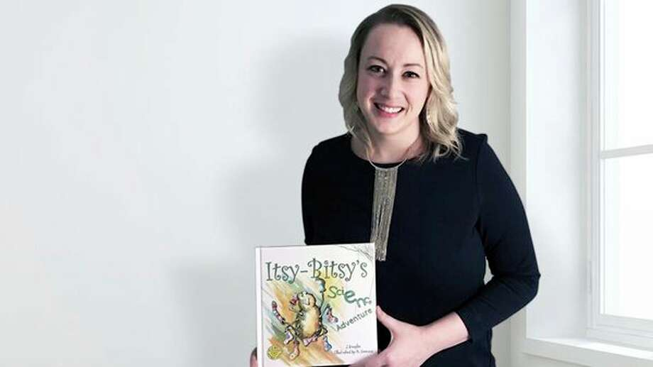 Jennifer Douglas, a Saginaw Valley State University alumna, authored the recently-published 'Itsy-Bitsy's Science Adventure,' a 28-page children's book aimed at encouraging interest in science, technology, engineering and math -- known as STEM, for short -- among children. (photo provided)