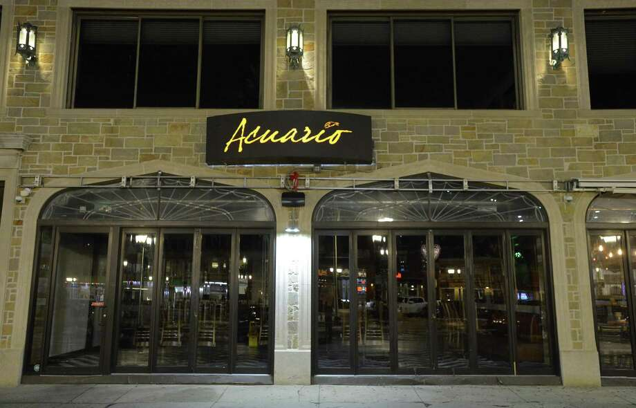 An exterior of Acuario in Stamford on Feb. 15, 2017. Photo: Matthew Brown / Hearst Connecticut Media / Stamford Advocate
