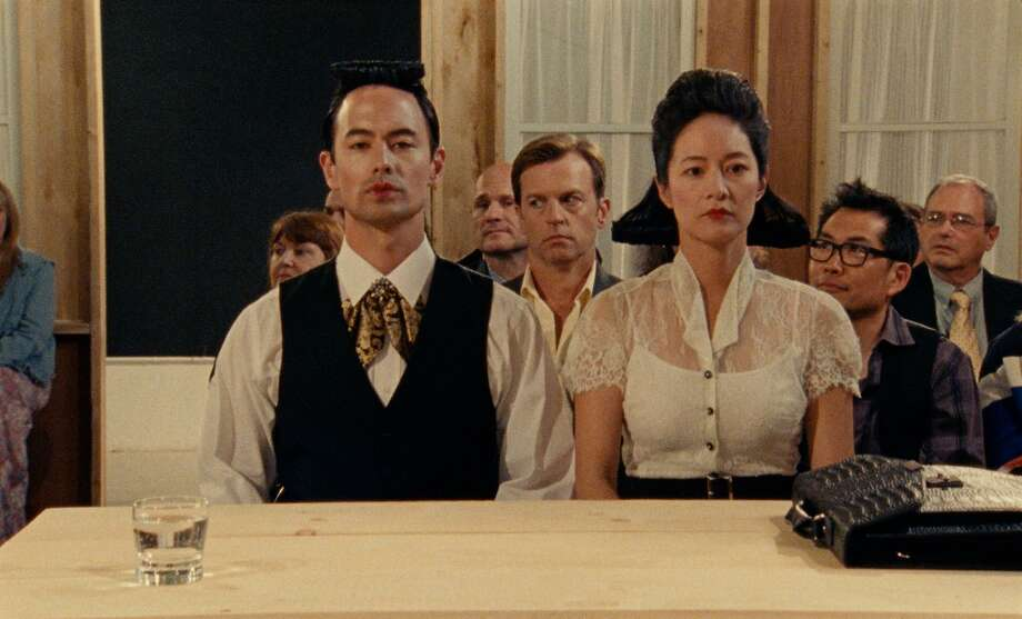In the Family LLC Photo: Ray (George Young), Karl (Trevor St. John), May (Janet Hsieh) And Alan (Andy Pang) In The Film 'A Br
