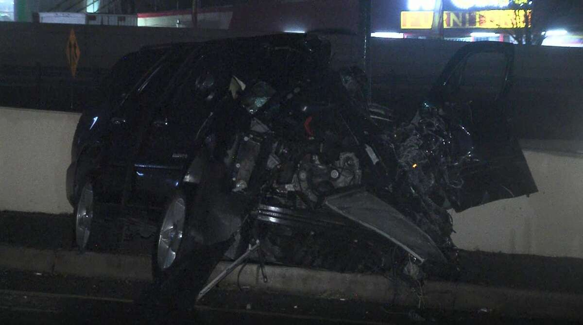 A man was killed after police say he lost control and hit a transformer head-on early Saturday morning on the Northwest Side.