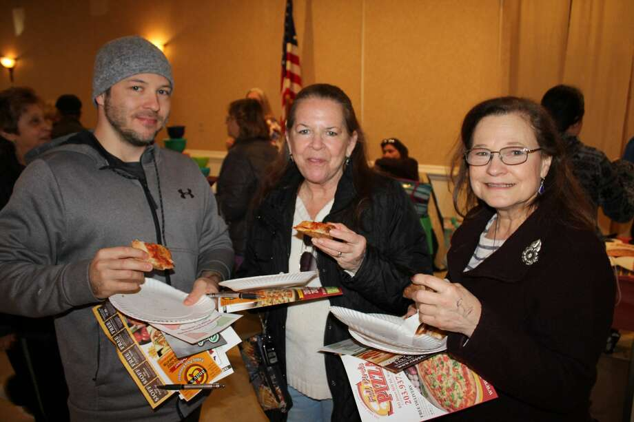 Nine pizzerias battled for the title of 'Best Pizza' in the West Haven Pizza Wars on Saturday, March 9, 2019 at the West Haven Italian American Club in West Haven, Conn. Attendees sampled each pizza, voted on their favorite and watched as judges tested each pizzeria's specialty pie. Admission to the event benefitted the West Haven Italian American Club's Italian Study Scholarship,whichis awarded to a West Haven High School student. Were you SEEN?    Photo: Kelly Ryan