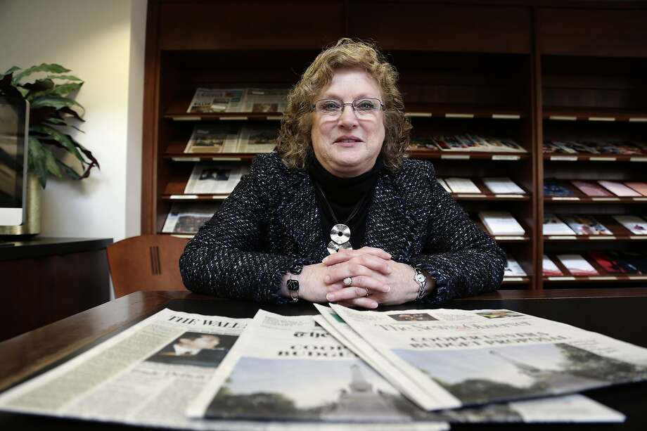 Penelope Muse Abernathy, a University of North Carolina professor, oversaw a report that shows more than 1,400 towns and cities in the U.S. have lost a newspaper over the past 15 years. Photo: Gerry Broome / Associated Press